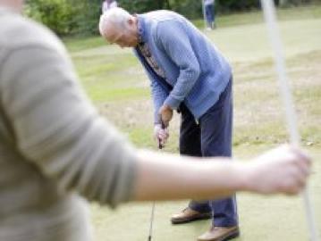 9-holes Pitch&Putt golfbaan